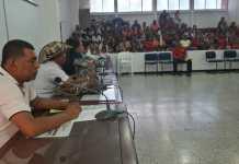 Aspecto de la sesión realizada la mañana de este lunes en el concejo de Maicao.