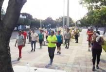 Con diversas actividades deportivas y de entretenimiento se realizan jornadas de hábitos y vida saludable en San Juan y zona rural.