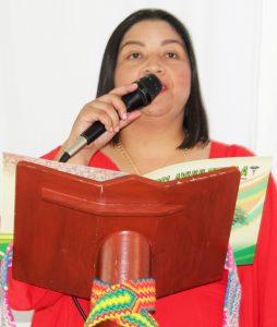 Marisela Mosquera, gerente general Ipsi Ayuuleepala.