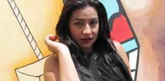 Daniela Paola Martínez Brito, quien sueña llegar muy lejos en la música de acordeón.