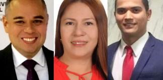 Rodrigo Cabrera Donado, Martha Amparo Rocha Meriño, Alberto Cuesta Gómez.