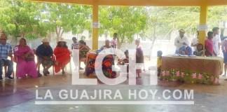 Aspecto del festival Gastronómico y Cultural en el corregimiento de Mayapo, del municipio de Manaure.