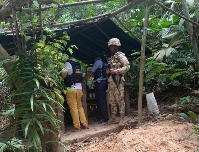 Cabe indicar que todo el material fue puesto a disposición de la Fiscalía seccional Guajira.