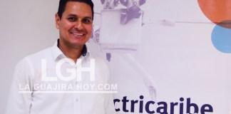 Sneider Lobo Barrera, gerente (e) de Electricaribe en La Guajira.