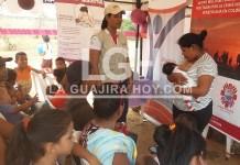 Unas 300 personas aproximadamente fueron atendidas en medicina general, higiene oral, planificación familiar, asesoría jurídica y educación en salud.
