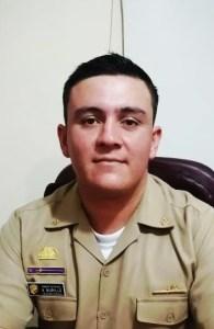 Andrés Murillo, teniente de fragata
