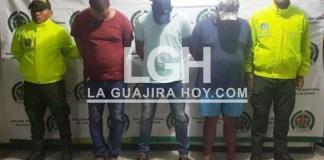 Los detenidos señalados de pertenecer a 'Los de Arriba'