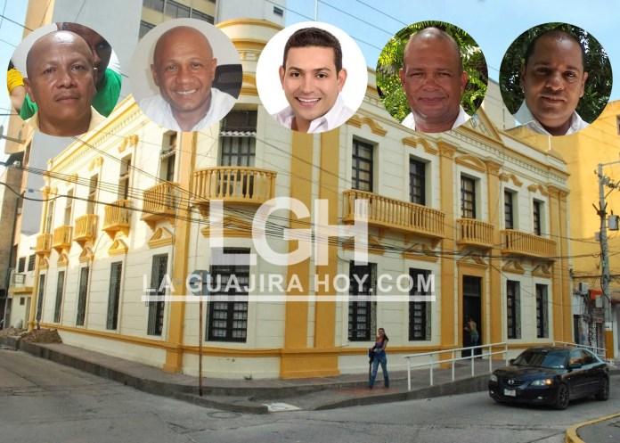 Aspirantes a ocupar el primer cargo público del Distrito de Riohacha.