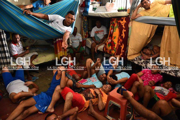La cárcel de Riohacha es una de las más hacinadas del país.