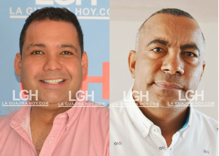 Nemesio Roys Garzón y Delay Magdaniel Hernández.