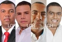 Olimpo Núñez De Armas, Armando Pulido Fajardo, Delay Magdaniel Hernández, Daniel Ceballos Brito.