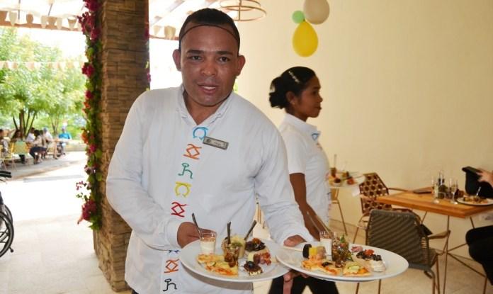 Platos fusionados con comida italiana y guajira, solo encuentra en el hotel Waya Guajira.