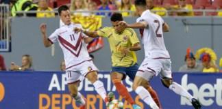 Una desteñida presentación hizo el guajiro con el combinado patrio en los dos juegos amistosos; contra las selecciones de Venezuela y Argelia.