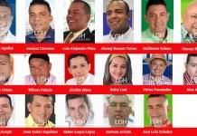 Concejales electos maicao 2020