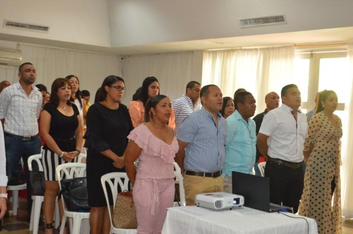 Profesionales que estarán al servicio de José Ramiro Bermudéz Cotes para conformar el equipo de empalme.