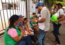 Operativos zona céntrica, lavaderos y registros a venezolanos.