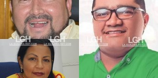 Yeiner Osorio, Isveth Pimienta, Luis Lubo Pichón.