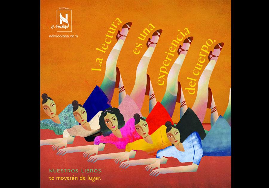 #Liviandades   Nace Editorial Nicolasa, enfocada en la danza y artes del movimiento
