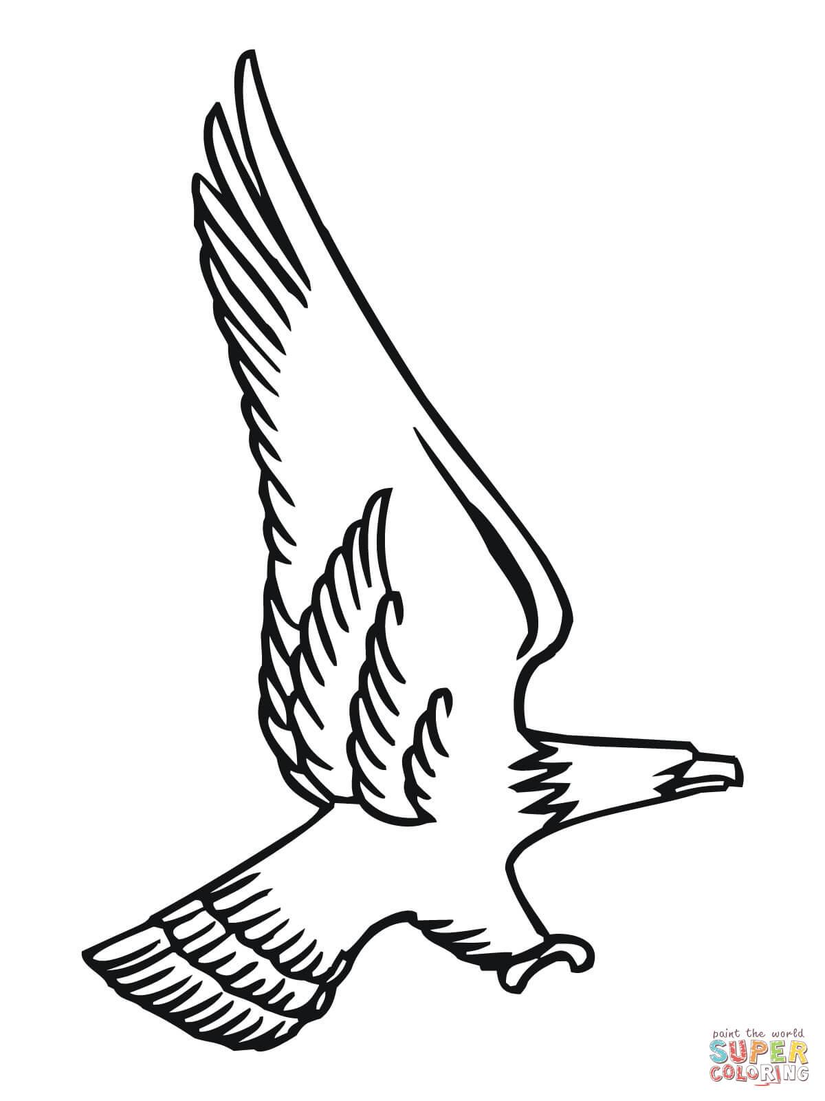 55 Dessins De Coloriage Aigle A Imprimer Sur Laguerche