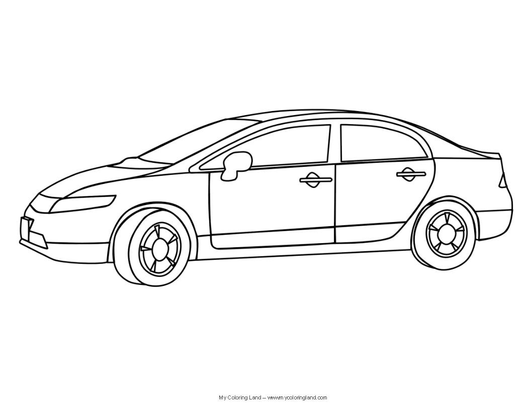 44 Dessins De Coloriage Autos A Imprimer Sur Laguerche