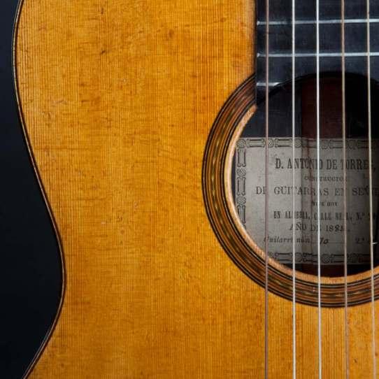 Guitarra flamenca D.Antonio de Torres
