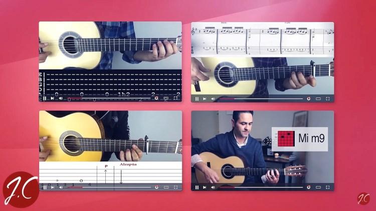 Como tocar canciones fáciles en guitarra flamenca por Jerónimo de Carmen