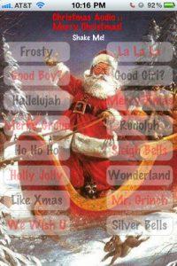 Christmas Audio iPhone App