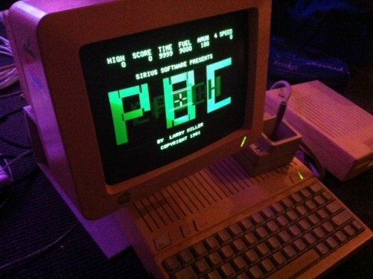 Epoch by Larry Miller 1981 Apple IIc