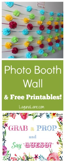 Photo Booth Signs & Backdrop | LagunaLane