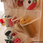 Organized Gift Wrapping