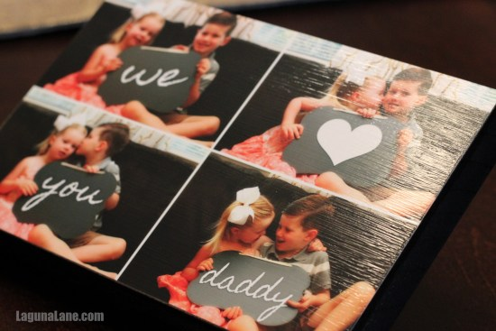 DIY Wood Photo Block | LagunaLane