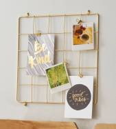 Gold Grid Display from Target | Laguna Lane