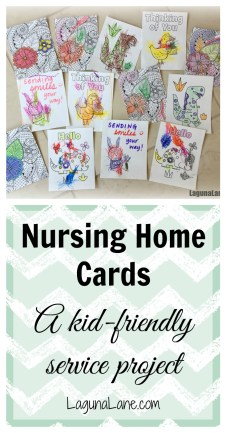 Nursing Home Cards - Service Project | Laguna Lane