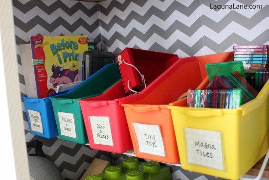 Toy Organization - Toy Bins for Sorting and Storing Small Toys | Laguna Lane