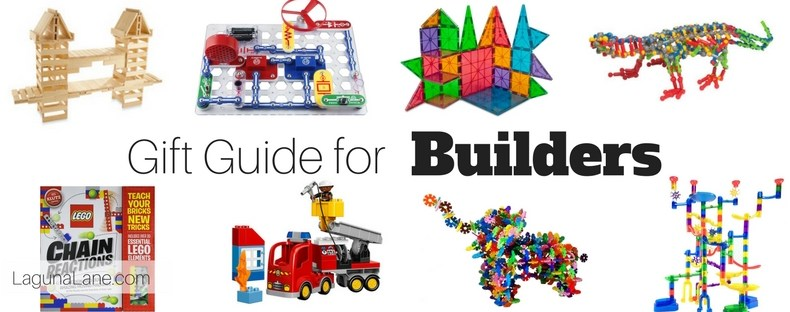 Building Gift Guide for Kids - Build, Engineer, & STEM | Laguna Lane