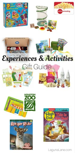 Experiences Gift Guide - Non-Toy, Activity Gifts | Laguna Lane