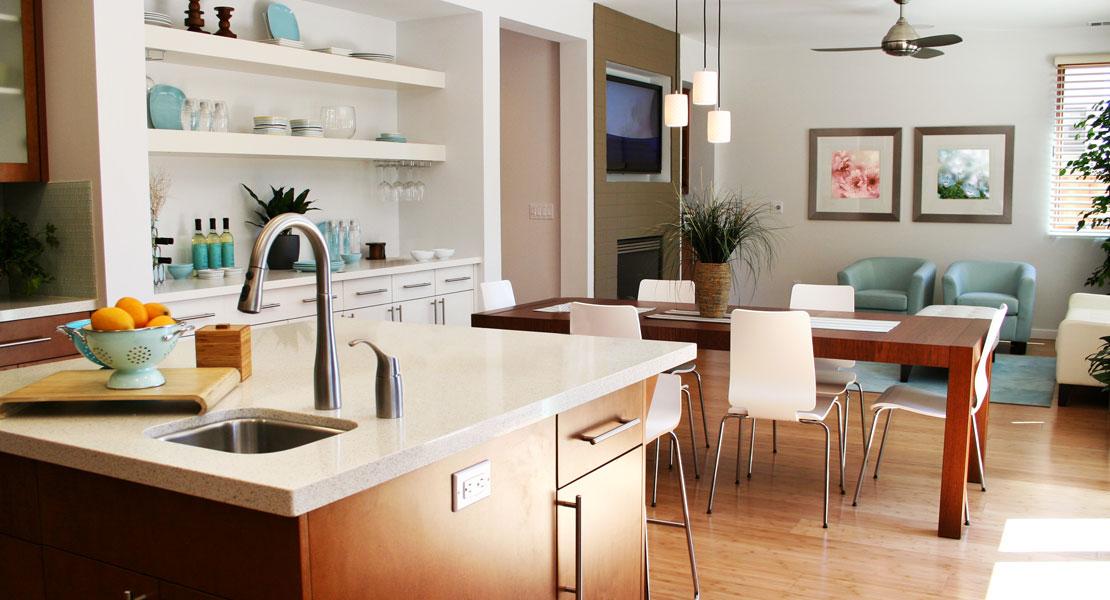 Muebles y diseño futurista en decoración