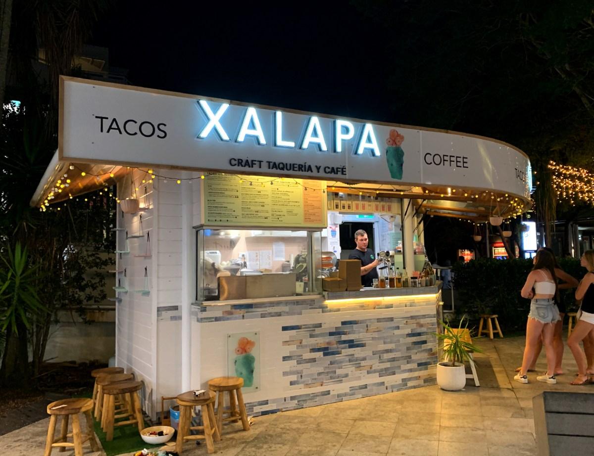 Xalapa illuminated front sign