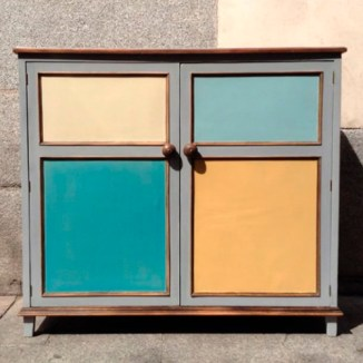 armario alacena reciclada pintura decorativa colores original restauracion reparacion muebles antiguos