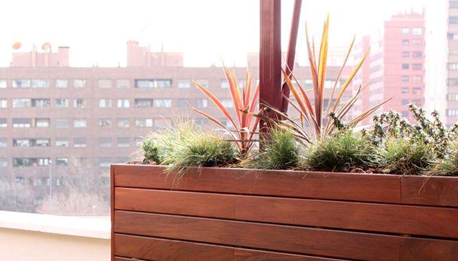 El jard n de ana un jard n de dise o para la terraza en - Diseno jardines madrid ...
