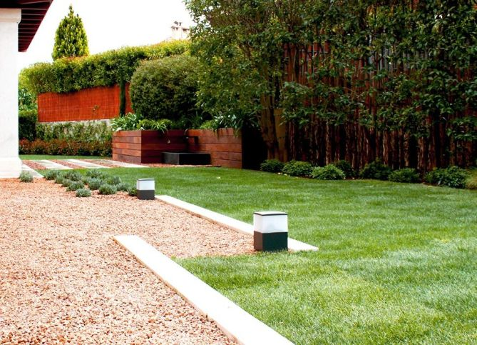 Jardín privado en Madrid