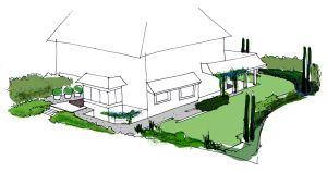 Jardín privado en Madrid proyecto
