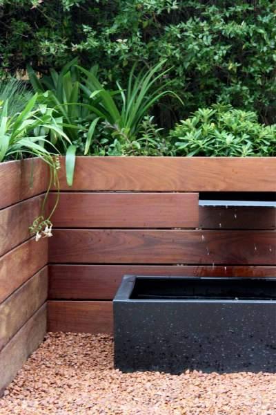 Fuente para jardín de diseño