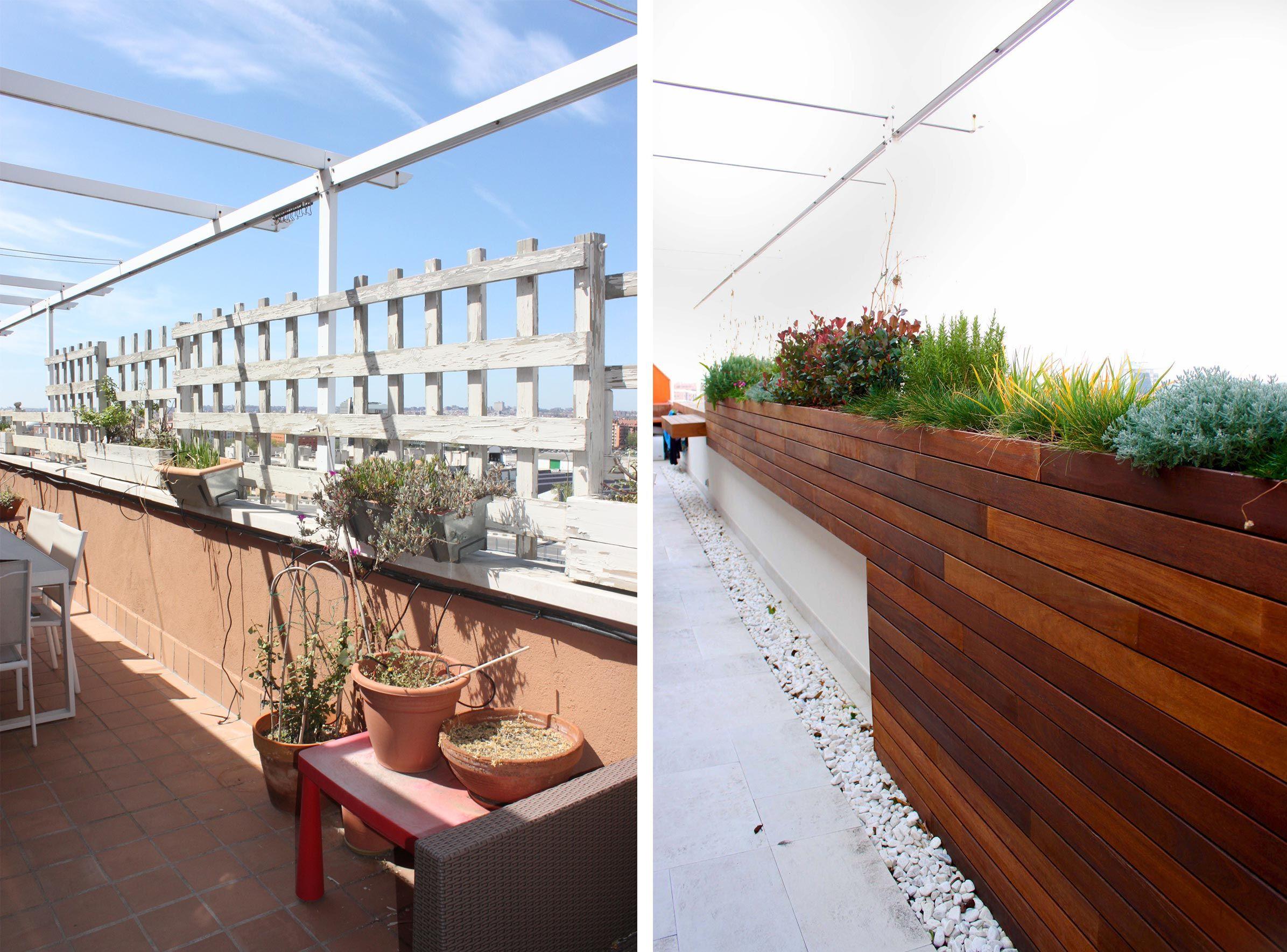 Terraza en madrid con aires mediterr neos la habitaci n verde - Diseno jardines madrid ...