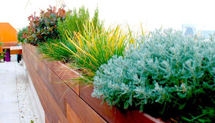 Portadas jardines y terrazas