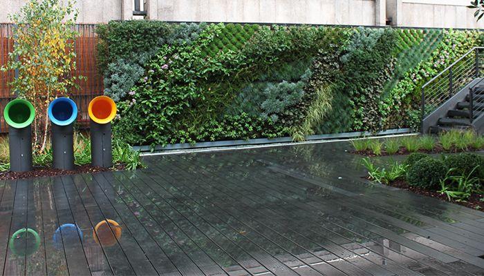 Jard n vertical en oficinas en madrid la habitaci n verde for Jardin vertical madrid