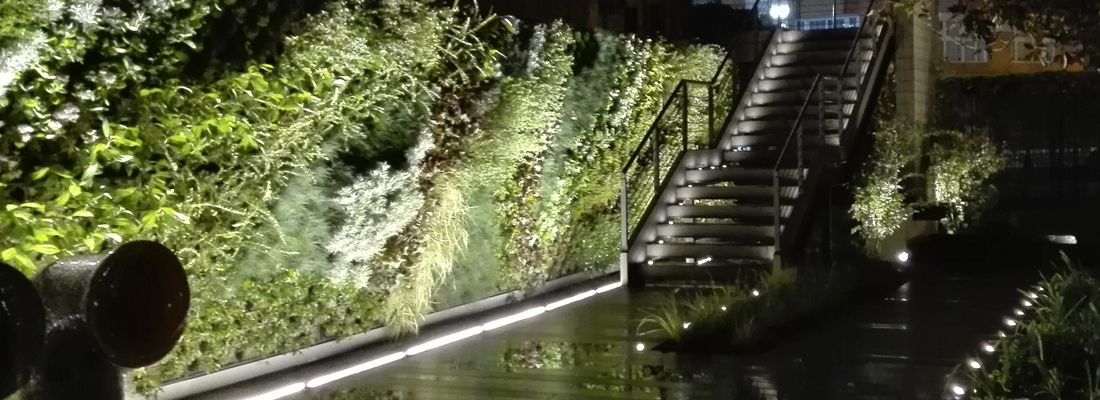 Iluminar un jard n la habitaci n verde - Iluminacion para jardines ...