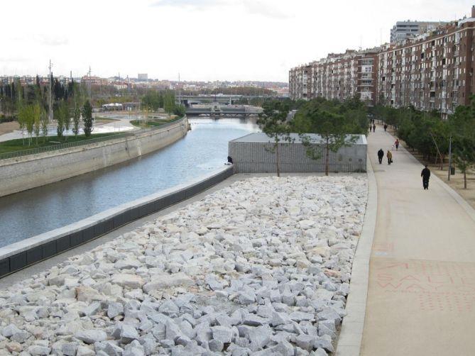 Madrid Río paisajismo