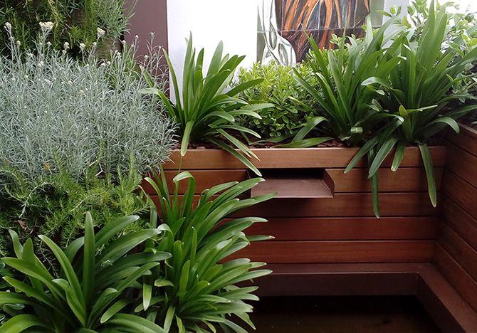 Casos de xito terraza con jard n vertical la for Jardin vertical madrid