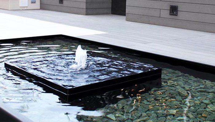 Fuente para jardín